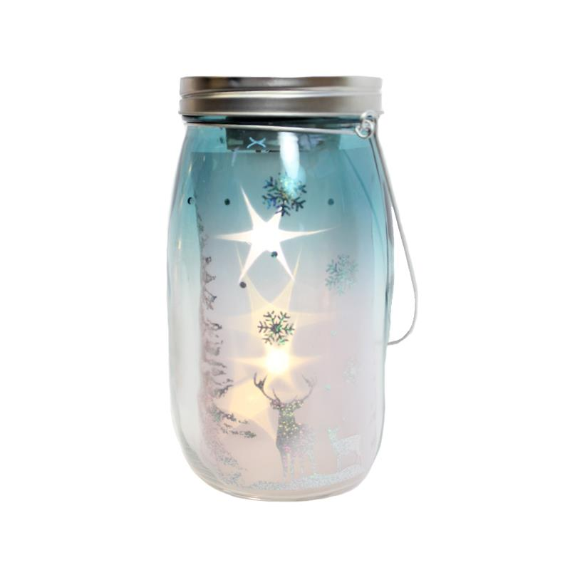 Jar With Orbiting Stars