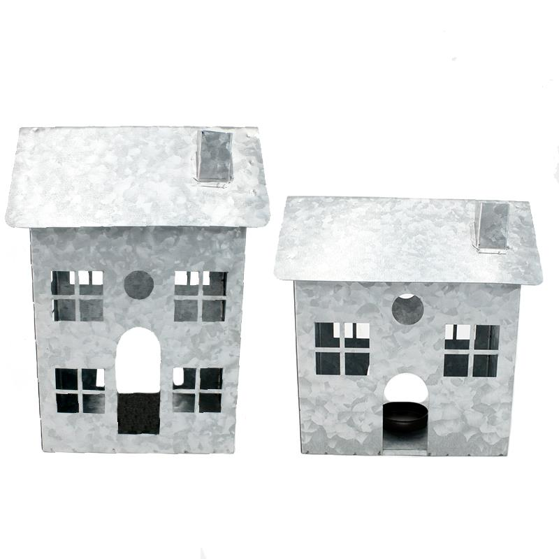 2 Assorted Christmas Houses