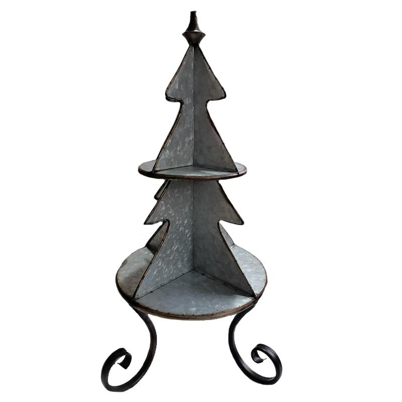 2 Tier Tree Shelf