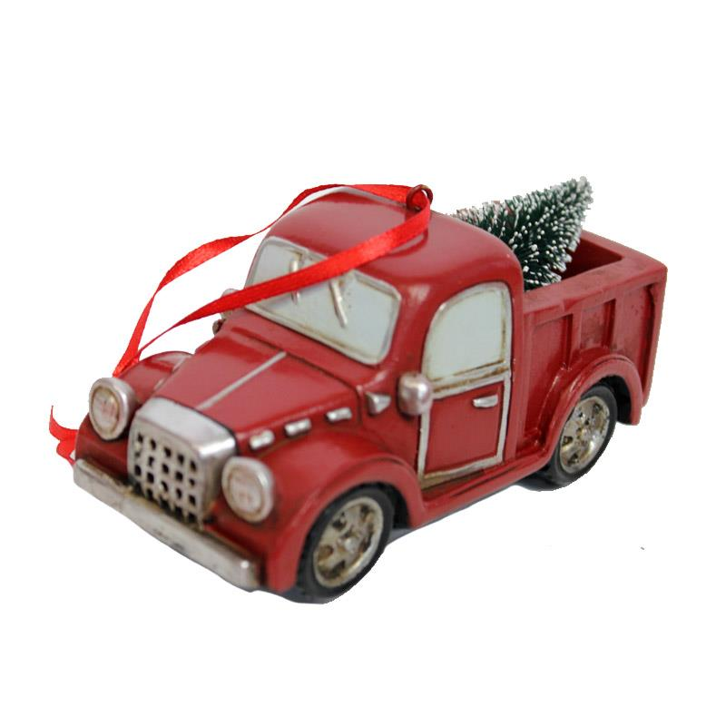 RSN TRUCK WITH TREE ORNAMENT
