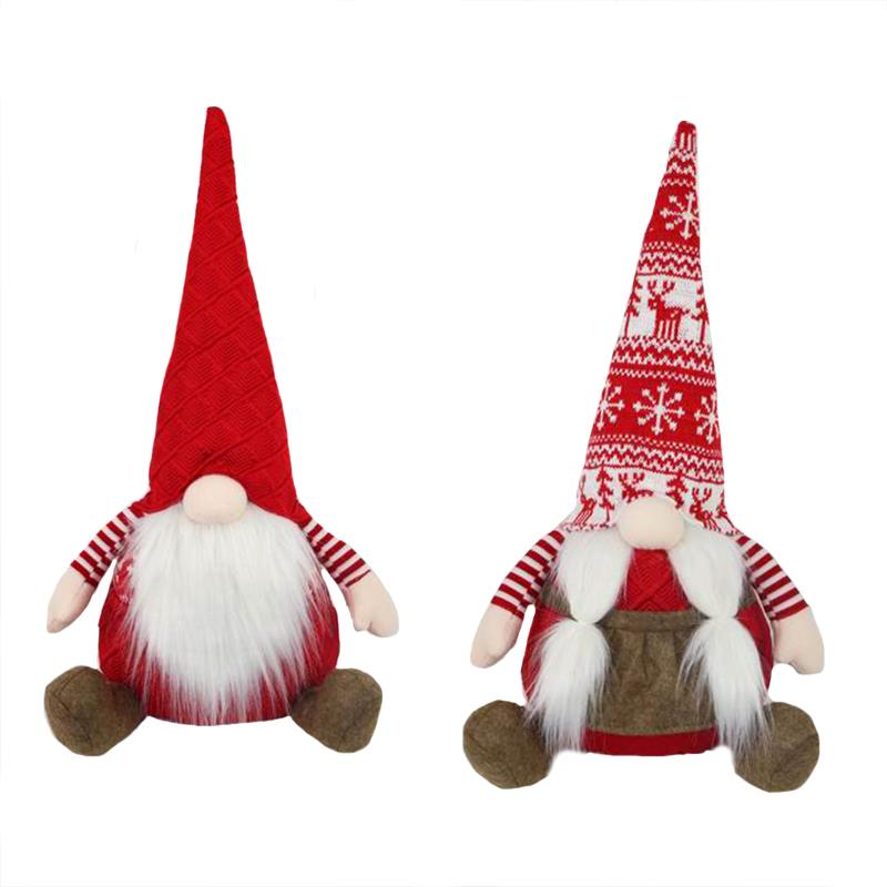 2 Assorted Christmas Gnomes