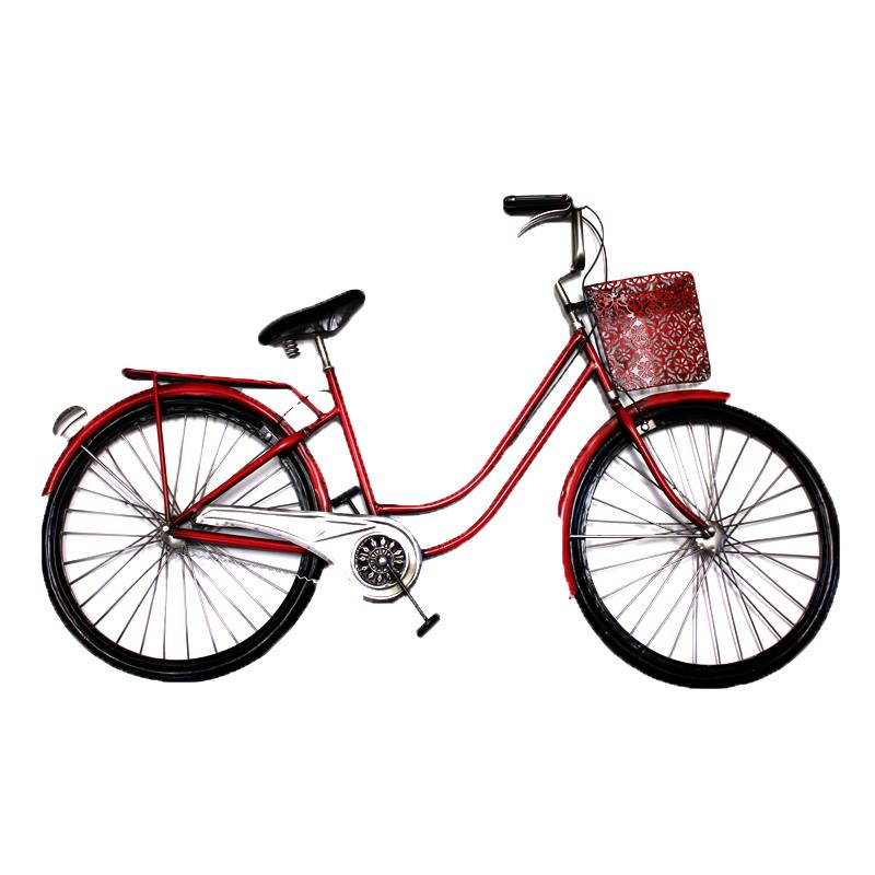 Bicycle Wall Art Red