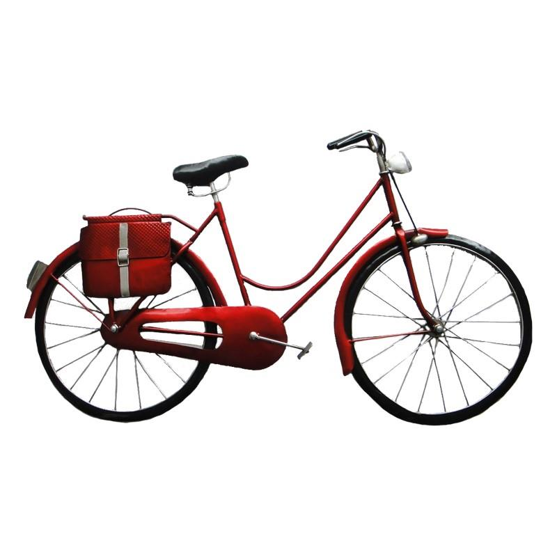 Bicycle with Pouch Wall Decor