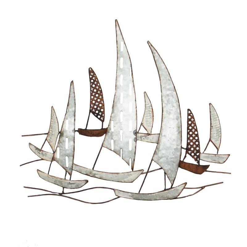 MTL SAIL BOAT WALL ART