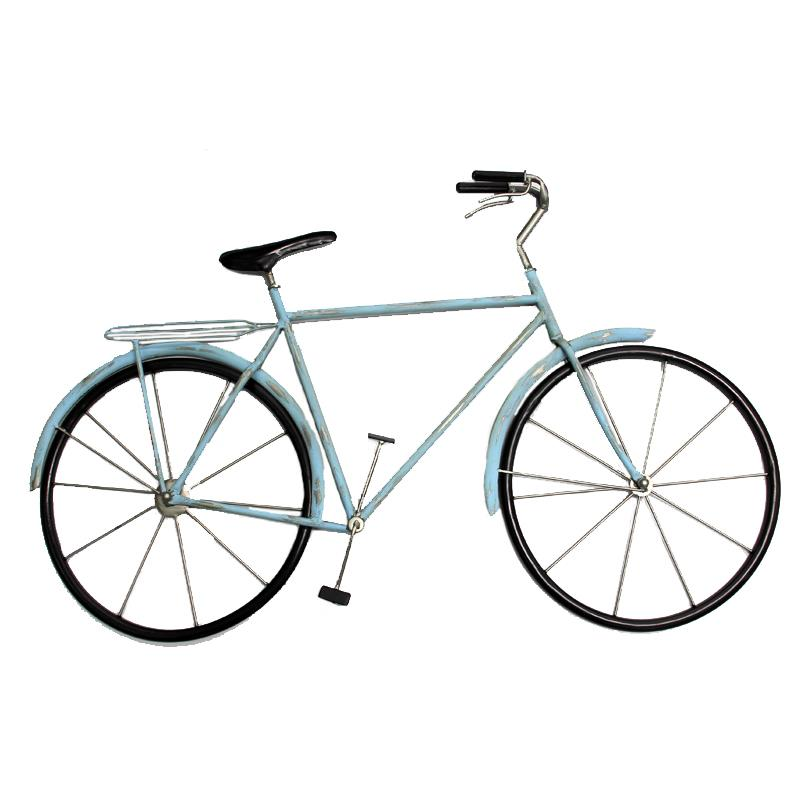 Bicycle Wall Decor Blue