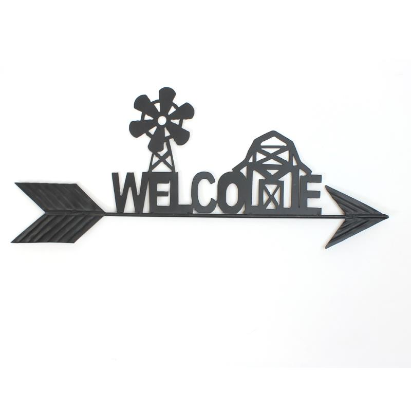 Mtl Welcome Farm Sign
