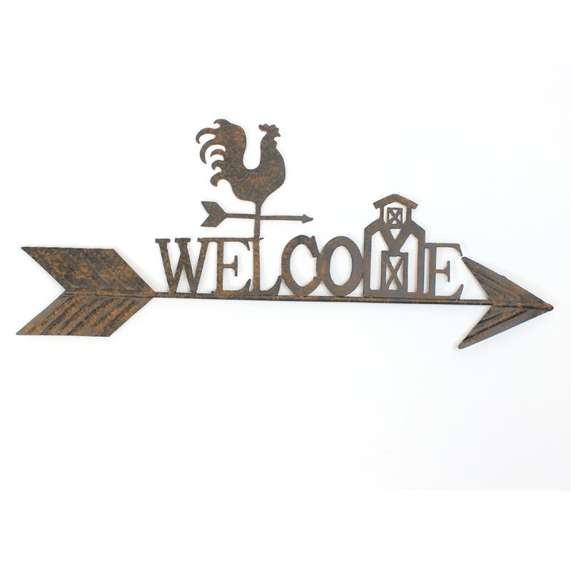Mtl Rooster Welcome Sign